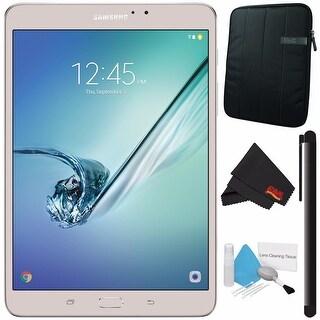 "Samsung 32GB Galaxy Tab S2 8"" Wi-Fi Tablet (Gold) SM-T713NZDEXAR + Tablet Neoprene Sleeve 10.1"" Case (Black) Bundle"