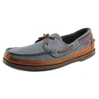 Sebago Schooner Moc Toe Leather Boat Shoe