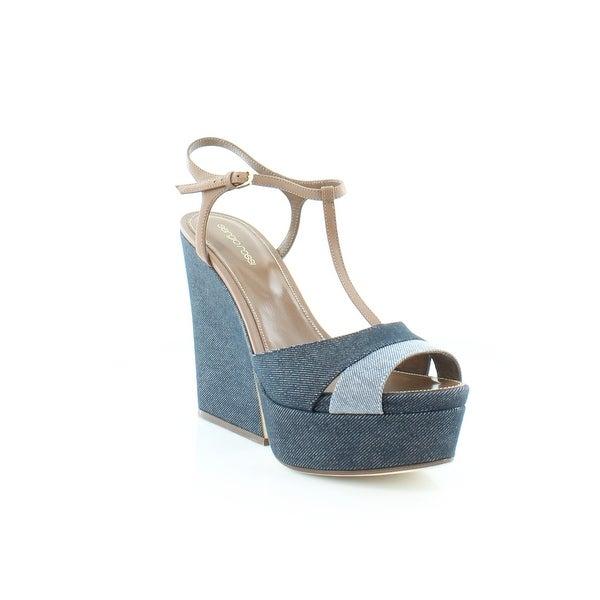 Sergio Rossi Edwidge Women's Sandals & Flip Flops Midnight - 11