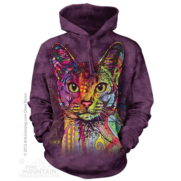 The Mountain Cotton Abyssinian Cat Adult Hoodie Jacket