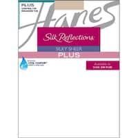 Hanes Silk Reflections Plus Sheer Control Top Enhanced Toe Pantyhose - Size - 1P - Color - Travel Buff