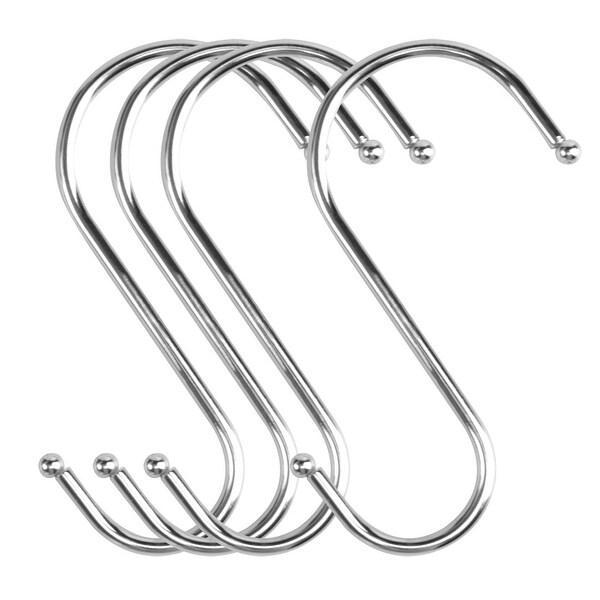 S Shaped Hook Stainless Steel for Kitchenware Hat Utensil Pot Holder