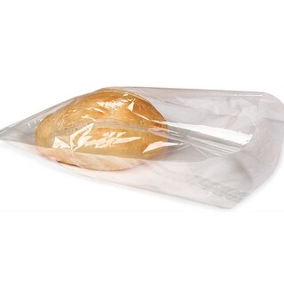 Pack Of 100, 1.2 Mil Cello Solid Clear Cellophane Bags 7 X 15""