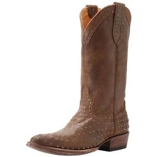 Old Gringo Mens Laguna 13'' Leather Studded Cowboy, Western Boots - 9.5 medium (d)