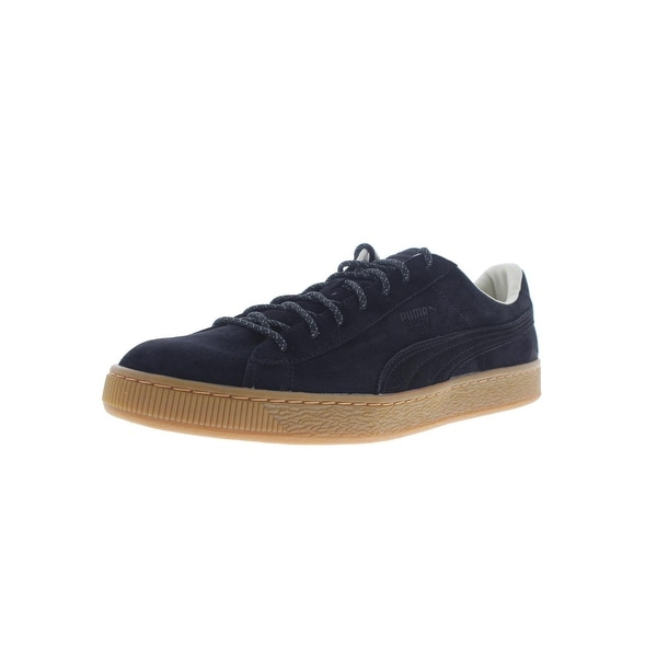 PUMA Puma Basket Classic Winterized Mens Tan Leather Lace Up Sneakers Shoes from Walmart | Shop