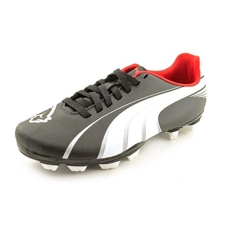Puma Attencio I FG Soccer Cleat Youth Round Toe Leather Soccer Cleats