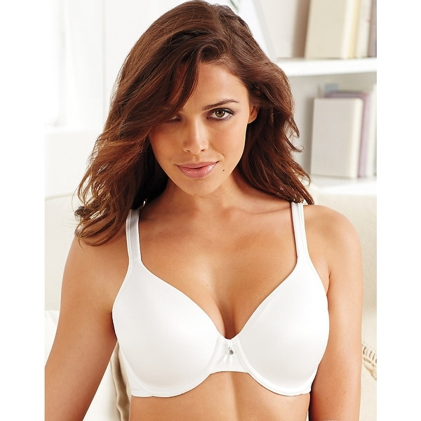 9467b60b885ad Shop Bali One Smooth U® Underwire Bra - Size - 42DD - Color - White  Tailored - Free Shipping On Orders Over  45 - Overstock.com - 13902443