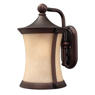 """Hinkley Lighting H1284 16"""" Height 1 Light Lantern Outdoor Wall Sconce from the Thistledown Collection"""