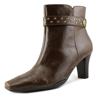 A2 By Aerosoles Cingalong   Square Toe Synthetic  Ankle Boot