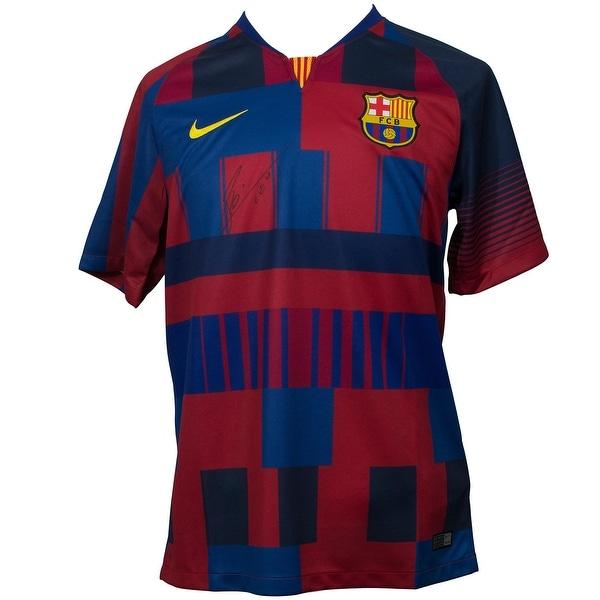 énorme réduction 0331d 5b5da Shop Lionel Messi Signed Nike Barcelona 20th Anniv Soccer ...