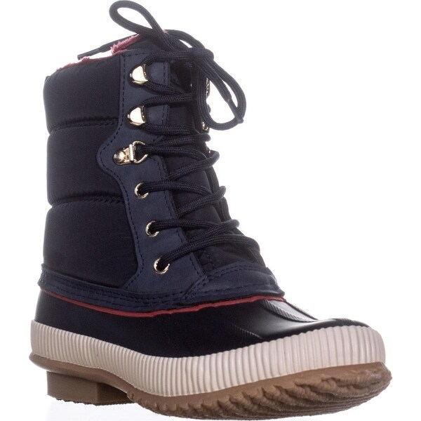 Tommy Hilfiger Elvia Lined Winter Boots, Medium Blue - 7 us