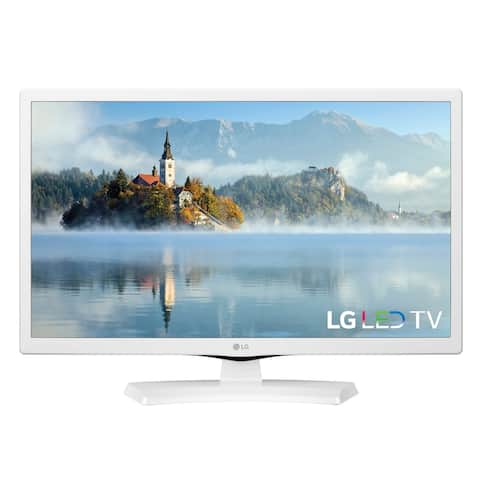 LG 24-inch Class White LED 24LJ4540-WU Bundle w/ HDMI Cable