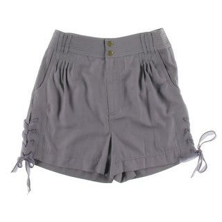 Catherine Malandrino Womens Silk Dress Shorts - 4