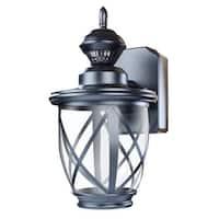 "Heath Zenith HZ-4630 Allure Single Light 10-9/10"" Tall LED Outdoor Wall Sconce w"