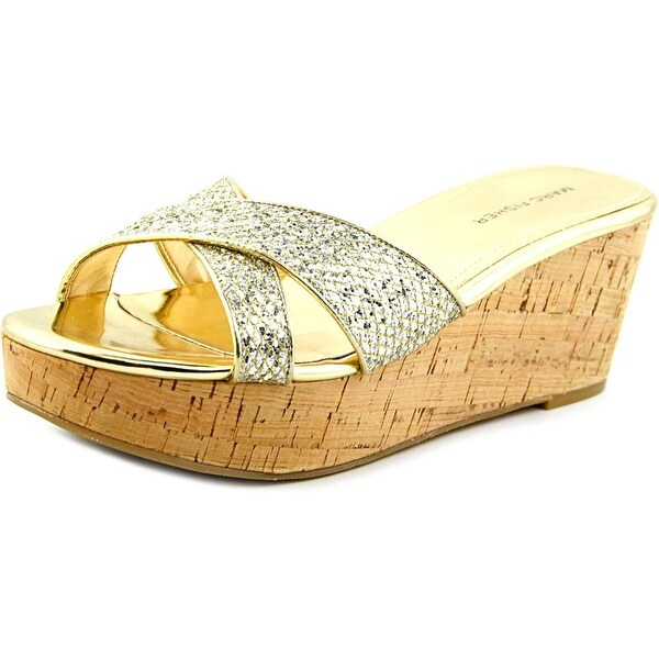 Marc Fisher Cilla 2 Women Open Toe Synthetic Wedge Sandal