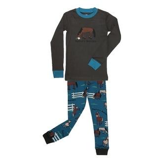 Lazy One Boys' Pasture Bedtime Pajama Set - 8