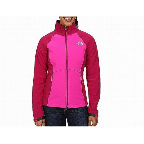 The North Face Luminous Pink Womens Size Medium M Shellrock Jacket