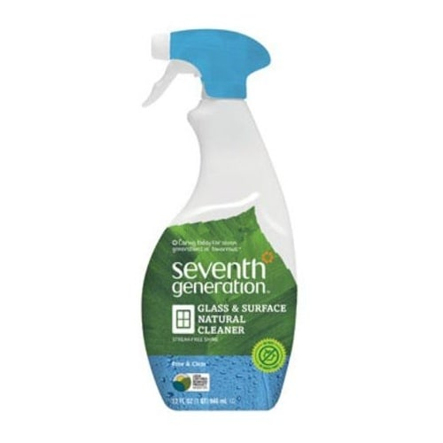 Seventh Generation Natural Glass And Surface Cleaner Spayer, 32 Oz
