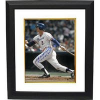 Dale Murphy signed Atlanta Braves 16x20 Photo NL MVP 82 83 Custom Framed white jersey batting