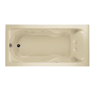 """American Standard 2773.018W Cadet 72"""" Acrylic Whirlpool Bathtub with Reversible Drain and AcuMassage Jets"""