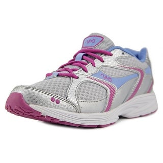 Ryka Streak Women  Round Toe Synthetic Silver Running Shoe
