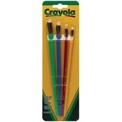 4/Pkg - Crayola Paintbrushes