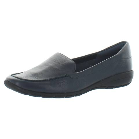Easy Spirit Womens Abide 8 Loafers Leather Slip On