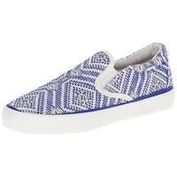 Pink & Pepper Womens Prosper Fashion Loafers Faux Woven Pattern