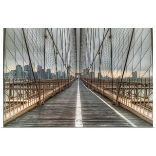 """Brooklyn Bridge, New York City"" Poster Print"