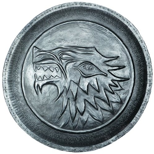 Game Of Thrones Stark Shield Pin - Silver
