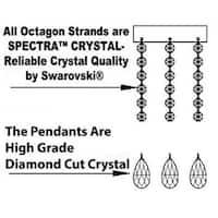 Swarovski Elements Crystal Trimmed Authentic Chandelier Lighting