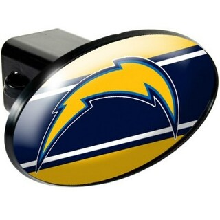 Great American Products San Diego Chargers Oval Trailer Hitch Cover Oval Trailer Hitch Cover
