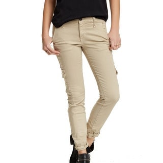 Joe's NEW Beige Khaki Women's Size 24X27 Corporal Skinny Ankle Jeans