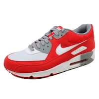 Nike Women's Air Max 90 White/White-Challenge Red-Medium Grey 325213-116