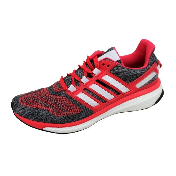 Adidas Women's Energy Boost 3 W Grey/Crimson-White BA7942 Size 10