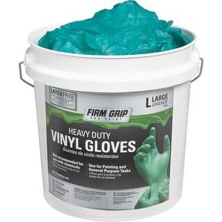 Firm Grip 300Ct Lg Hd Vinyl Glove