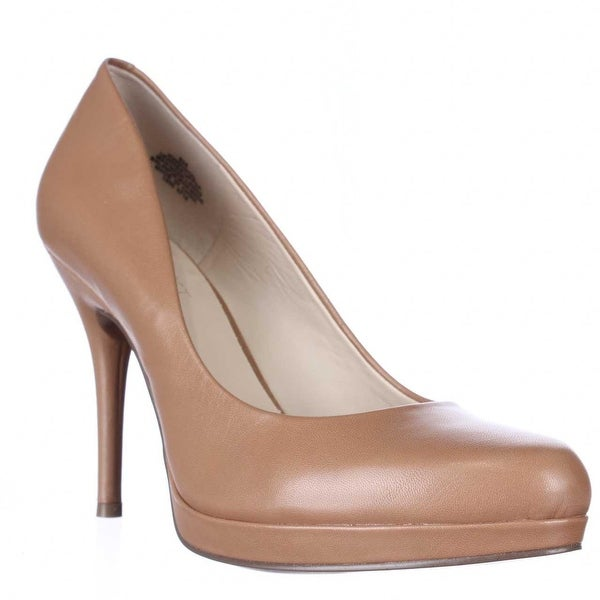 Nine West Kristal Platform Dress Heels, Natural