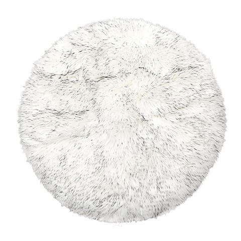 Faux Sheepskin Puffy Rugs for Bedroom Living room