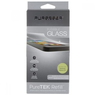 PureGear Puretek, Refill, Flexible Glass Screen Protector for Samsung Galaxy S5