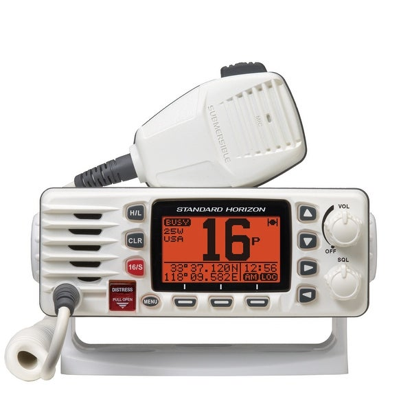 Standard Horizon GX1300W Eclipse Ultra Compact Fixed Mount VHF - White