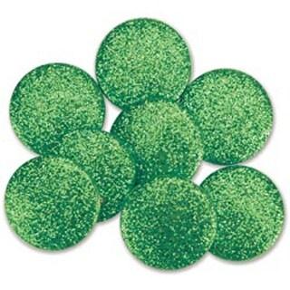 Emerald Green - Dress It Up Big Glitter Dots 19Mm 8/Pkg