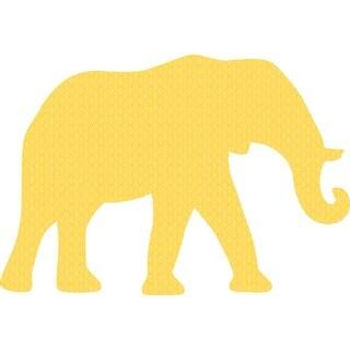 "Jigsaw Shaped Puzzle 370 Pieces 27""X18.5""-Elephant - Elephant"