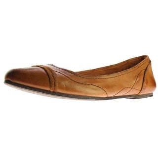 Frye Womens Riley Artisan Ballet Flats Leather Pointed Toe - 7.5 medium (b,m)