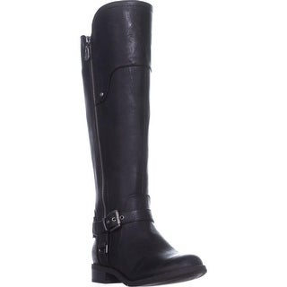 G by Guess Harson Tall Riding Boots, Black Multi