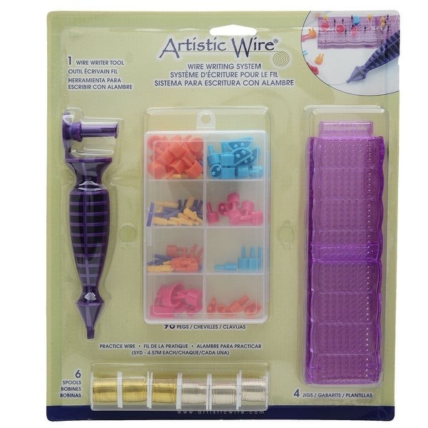 Artistic Wire, Craft Wire Writing System Kit, Forms Letters & Numbers