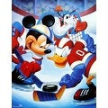 ''Mickey & Friends: Ice Hockey'' by Walt Disney Humor Art Print (28 x 22 in.) - Thumbnail 0