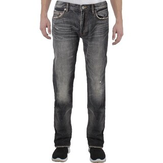 Marc by Marc Jacobs Mens MJ 110 Straight Leg Jeans Distressed Slim Fit