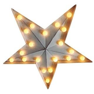 Sylvania V87636-71 Battery Operated LED Star, Warm White