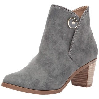 Lindsay Phillips Womens shelly Almond Toe Ankle Fashion Boots