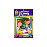 School Zone LGR Multiplication Facts Bk